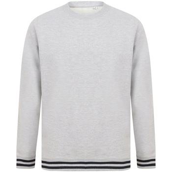 Textil Sweats Front Row FR840 Heather Grey/Navy