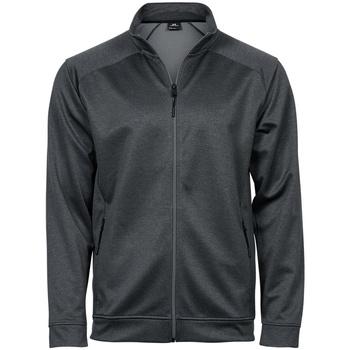 Textil Casacos fato de treino Tee Jays T5602 Melange cinzento escuro