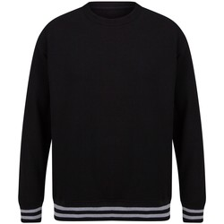 Textil Sweats Front Row FR840 Preto/Couro Cinza