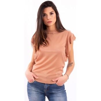 Textil Mulher T-Shirt mangas curtas Fracomina FR20SM806 Incolor