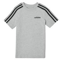 Textil Rapaz T-Shirt mangas curtas adidas Performance YB E 3S TEE Cinza