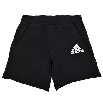 Textil Rapaz Shorts / Bermudas adidas Performance B BOS SHORT Preto