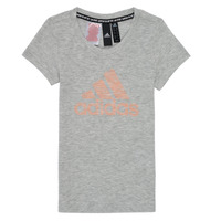 Textil Rapariga T-Shirt mangas curtas adidas Performance JG A MHE TEE Branco