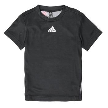 Textil Rapaz T-Shirt mangas curtas adidas Performance B A.R. TEE Preto