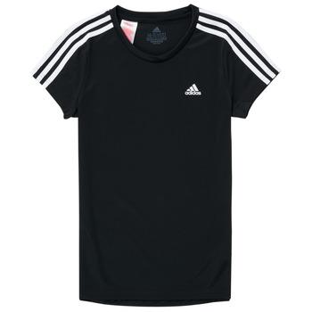 Textil Rapariga T-Shirt mangas curtas adidas Performance G 3S T Preto