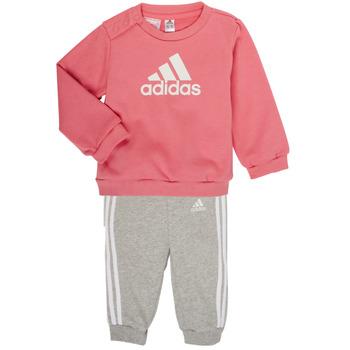 Textil Rapariga Conjunto adidas Performance BOS JOG FT Rosa