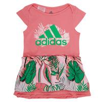 Textil Rapariga Vestidos curtos adidas Performance FLOWER DRESS Rosa