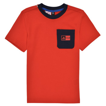 Textil Rapaz Conjunto adidas Performance LB DY SHA SUM Vermelho / Marinho