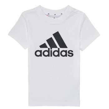 Textil Rapaz T-Shirt mangas curtas adidas Performance B BL T Branco