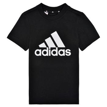 Textil Rapaz T-Shirt mangas curtas adidas Performance B BL T Preto