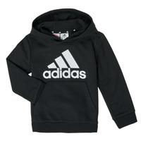 Textil Rapaz Sweats adidas Performance B BL HD Preto
