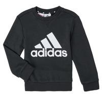 Textil Rapaz Sweats adidas Performance B BL SWT Preto