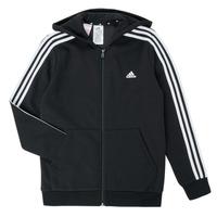 Textil Rapaz Sweats adidas Performance B 3S FZ HD Preto