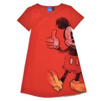 Textil Rapariga Vestidos curtos Desigual 21SGVK41-3036 Vermelho
