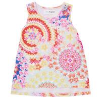 Textil Rapariga Tops sem mangas Desigual 21SGCW02-3146 Multicolor