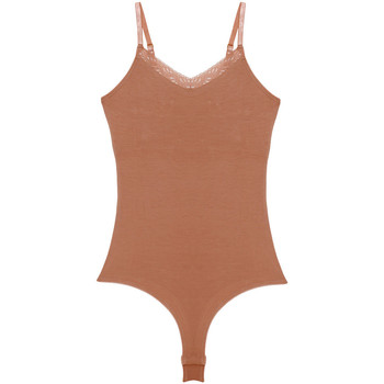 Roupa de interior Mulher Bodies Underprotection BB1019 BEA BODY TAN Bege