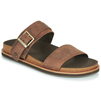 Sapatos Homem Chinelos Timberland AMALFI VIBES 2BAND SANDAL Castanho