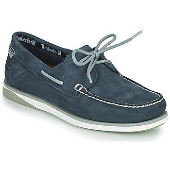 Sapatos Homem Sapato de vela Timberland ATLANTIS BREAK BOAT SHOE Azul