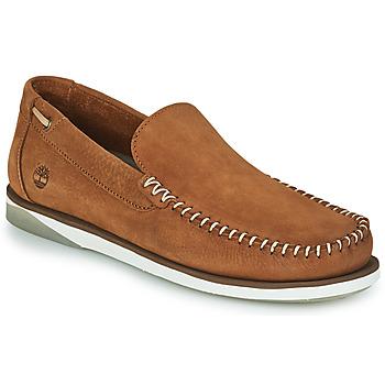 Sapatos Homem Sapato de vela Timberland ATLANTIS BREAK VENETIAN Conhaque