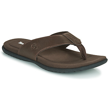 Sapatos Homem Chinelos Timberland KESLER COVE THONG Castanho