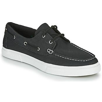 Sapatos Homem Sapato de vela Timberland UNIONWHARF2.0EK+ 2EYEBOAT Preto
