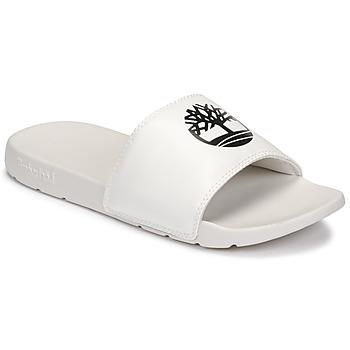 Sapatos Chinelos Timberland PLAYA SANDS SPORTS SLIDE Branco