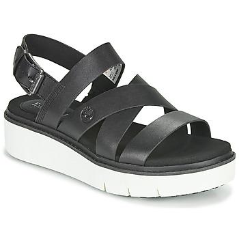 Sapatos Mulher Sandálias Timberland SAFARI DAWN FRONT STRAP Preto
