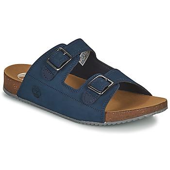 Sapatos Criança Chinelos Timberland CASTLE ISLAND SLIDE Azul