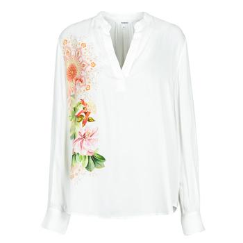 Textil Mulher camisas Desigual TIGRIS Branco