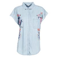 Textil Mulher camisas Desigual SULLIVAN Azul