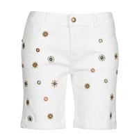 Textil Mulher Shorts / Bermudas Desigual GRECIA Branco