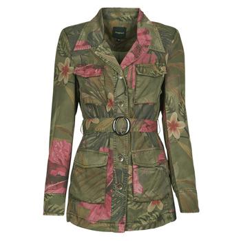 Textil Mulher Casacos/Blazers Desigual CAMOASIS Cáqui