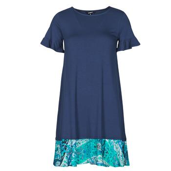 Textil Mulher Vestidos curtos Desigual KALI Marinho