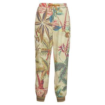 Textil Mulher Calças finas / Sarouels Desigual TOUCHE Bege