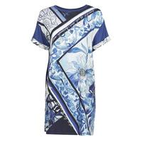 Textil Mulher Vestidos curtos Desigual SOLIMAR Azul