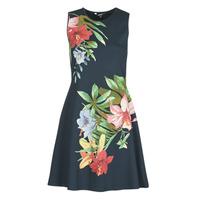 Textil Mulher Vestidos curtos Desigual KILKENY Marinho