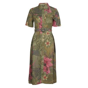 Textil Mulher Vestidos compridos Desigual ANGELA Cáqui