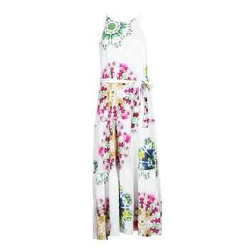 Textil Mulher Vestidos compridos Desigual SENA Branco