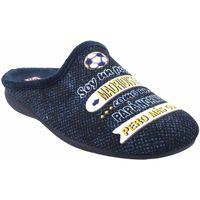 Sapatos Homem Chinelos Gema Garcia Vá para casa cavalheiro  7105-39 azul Bleu