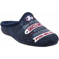 Sapatos Homem Chinelos Gema Garcia Vá para casa cavalheiro  7105-40 azul Bleu