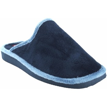 Sapatos Mulher Chinelos Gema Garcia Vá para casa senhora  2308-1 azul Bleu