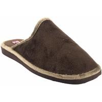 Sapatos Homem Chinelos Gema Garcia Vá para casa cavalheiro  2306-1 marrom Marron