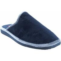 Sapatos Homem Chinelos Gema Garcia Vá para casa cavalheiro  2306-1 azul Bleu