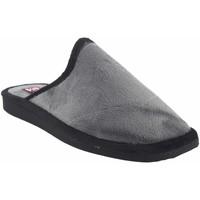 Sapatos Homem Chinelos Gema Garcia Vá para casa cavalheiro  2306-1 cinza Gris