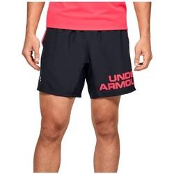 Textil Homem Shorts / Bermudas Under Armour Speed Stride Graphic 7 Shorts Preto