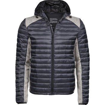 Textil Homem Quispos Tee Jays T9610 Space Grey/Grey Melange
