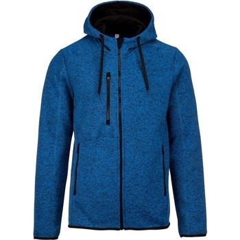 Textil Homem Sweats Proact PA365 Melange Azul Claro Real