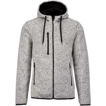 Textil Homem Sweats Proact PA365 Melange Cinza Claro