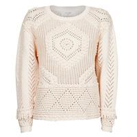 Textil Mulher camisolas Cream CELESTE KNIT Bege