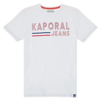 Textil Rapaz T-Shirt mangas curtas Kaporal EZIO Branco